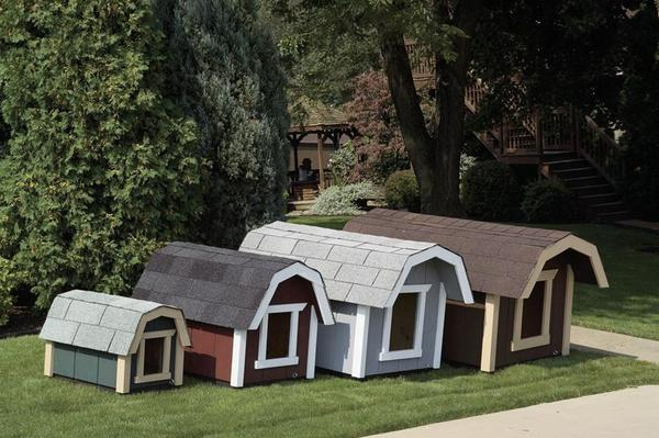 Wooden Amish Large Dog House