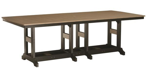 "Berlin Gardens 44"" x 96"" Classic Poly Pub Counter Table"