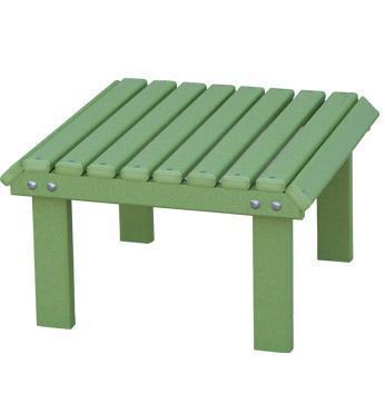 Berlin Gardens Stationary Poly Patio Footstool