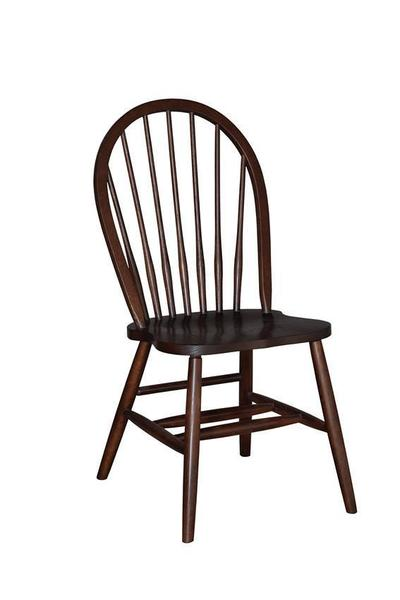 Amish 7-Spindle Bow Back Dining Room Chair