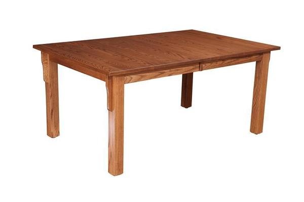 Amish Andalusia Mission Dining Room Table