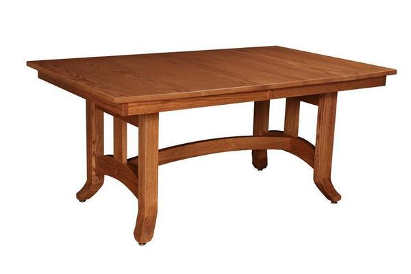 Amish Biltmore Mission Trestle Table