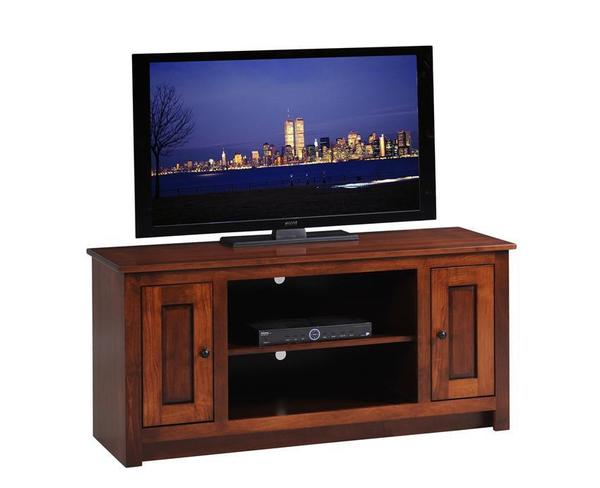 Amish Express Open Center TV Stand - Quick Ship