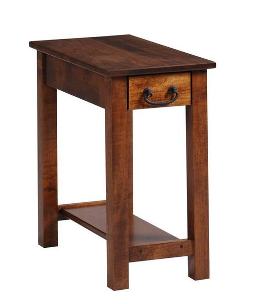 Amish Express Quick Ship Chairside Table