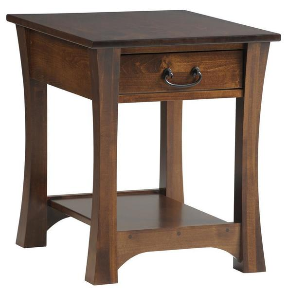 Amish Woodbury End Table