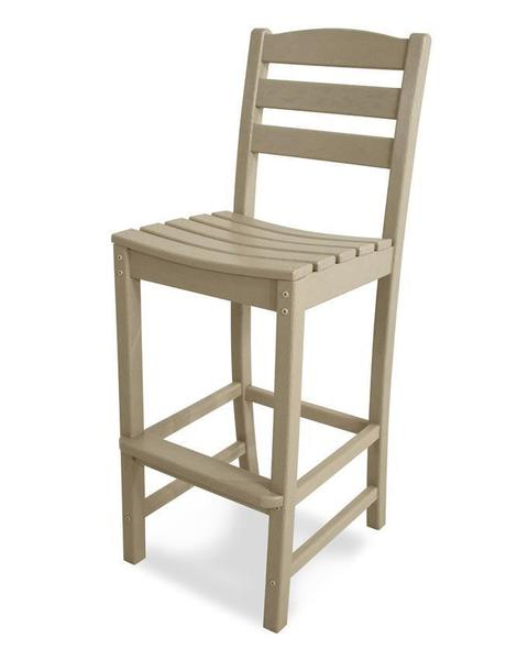 POLYWOOD® La Casa Cafe Side Bar Stool