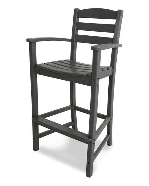 POLYWOOD® La Casa Cafe Bar Stool