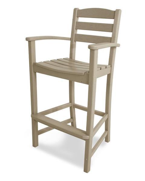 POLYWOOD® La Casa Cafe Bar Arm Chair