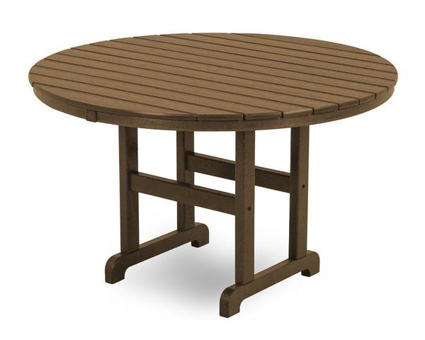"POLYWOOD® 48"" Round Dining Table"