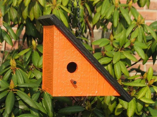 Amish Right-Angle Modern Bird House