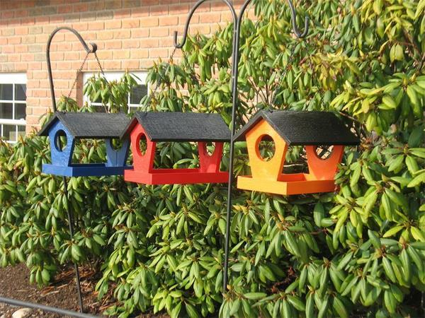 Amish Shapz Cut-Out Garden Bird Feeder