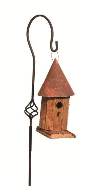 Amish-Made Witch's Hat Bird House
