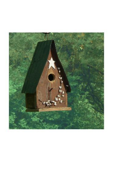 Amish-Made Berry Bird House