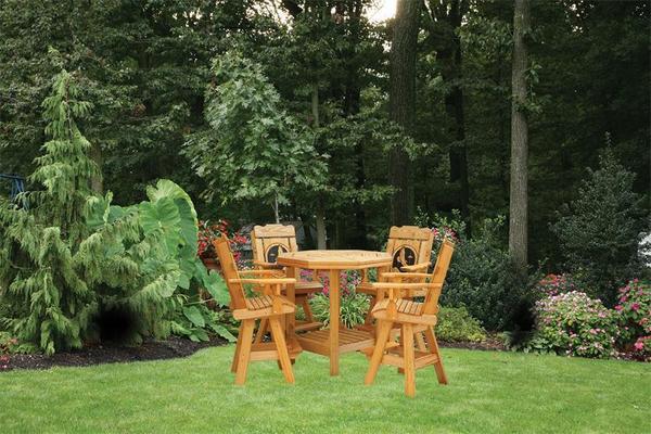 Amish Creative Classics Pine Wood Patio Set