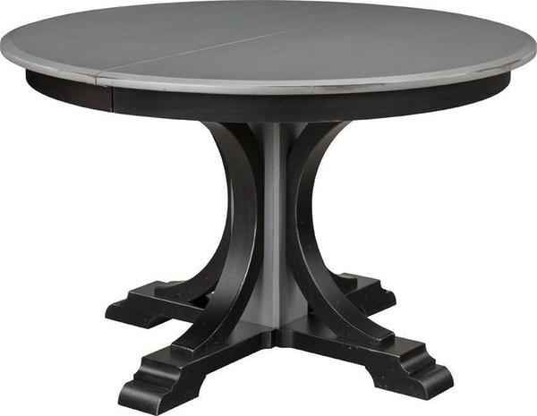 Verona Single Pedestal Dining Table by Keystone