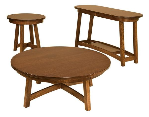 Fremont Round End Table