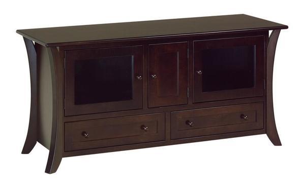 """Amish 60"""" Hesston Shaker TV Stand"""