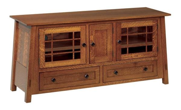 "Amish McCoy Mission 60"" TV Stand"
