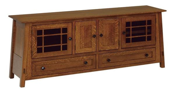 "Amish McCoy 72"" TV Stand"