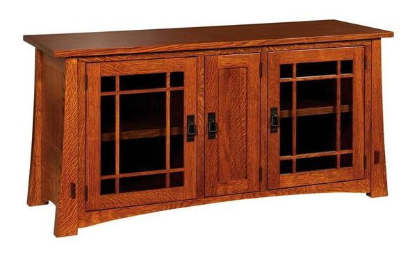 "Amish 60"" Montana Mission TV Stand"