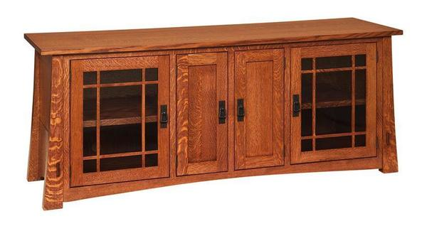 "Amish 72"" Montana Mission TV Stand"