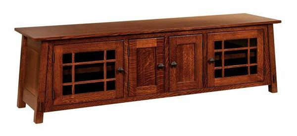 "Amish McCoy Mission 72"" TV Stand"