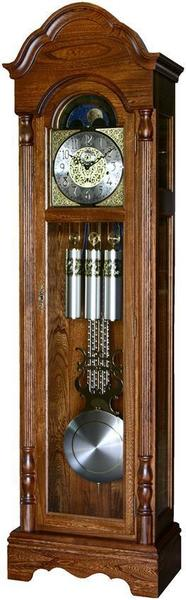 Canterbury Triple Chiming Grandfather Clock with Auto Night Silencer