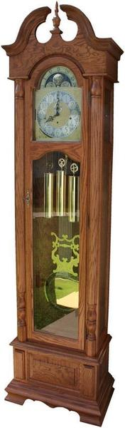 Harrington Grandfather Clock with Auto Night Silencer