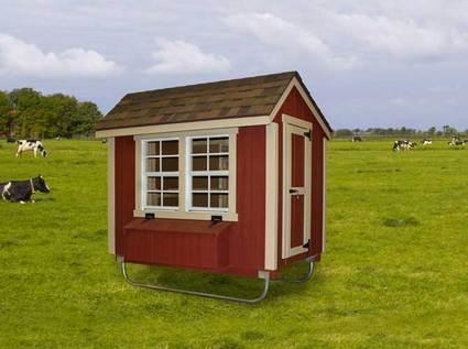 Urban Design Chicken Coop Medium 4' x 6'