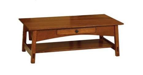 Amish McCoy Hardwood Coffee Table