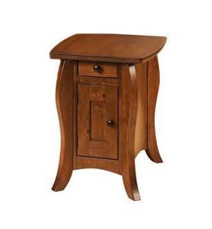 Amish Small Vienna Mission End Table