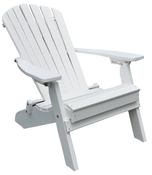 Amish Folding and Reclining Poly Adirondack Chair  sc 1 st  DutchCrafters Amish Furniture & Folding and Reclining Adirondack Chair from DutchCrafters Amish