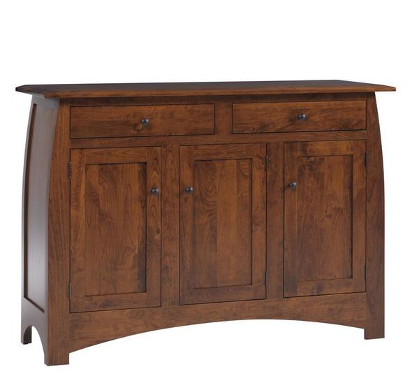 Amish Bordeaux Mission Buffet Sideboard
