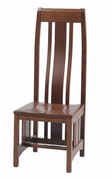 Amish Bordeaux Mission Dining Room Chair