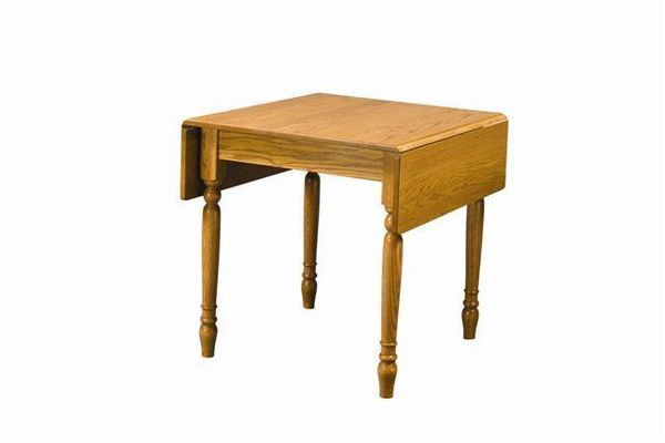 Amish Rectangular Drop Leaf Dinette Table