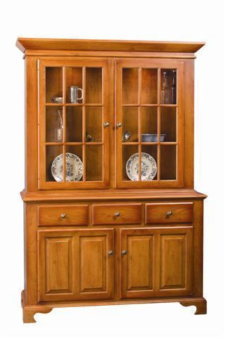 Amish Furniture Colonial Hutch