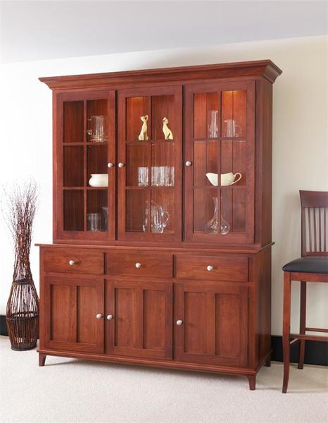 "Amish 69"" Rydal Three Door Hutch"