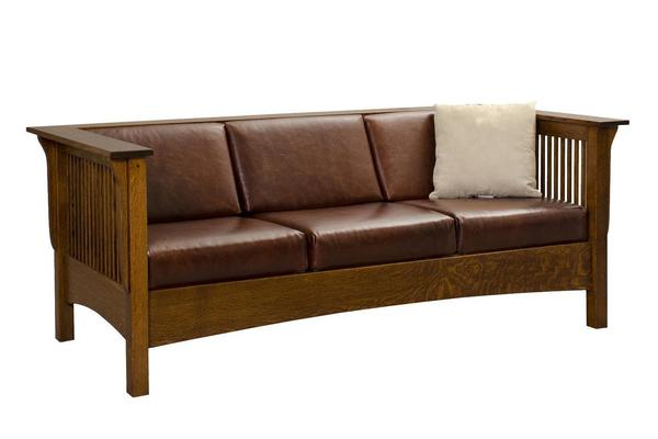Moon River Mission Sofa From Dutchcrafters Amish Furniture