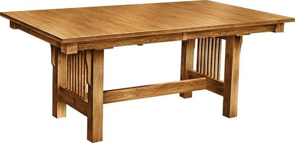 Amish Prairie Mission Dining Room Table