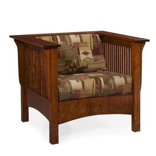 Amish Moon River Lounge Chair