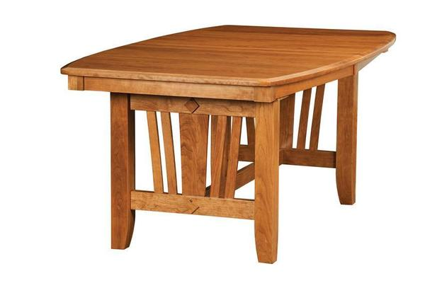 Amish Madison Mission Trestle Table