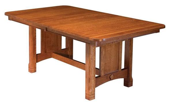 Amish Griffith Trestle Dining Table
