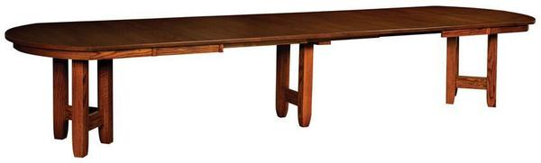 Amish Solid Wood Banquet Table