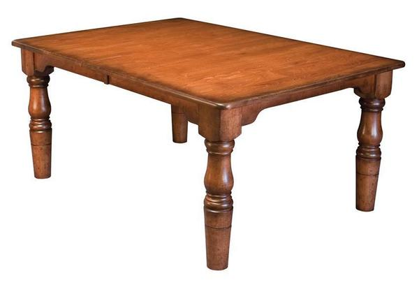 Amish Handcrafted French Country Farmhouse Dining Table