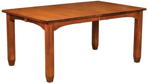 Amish Kensington Hardwood Table