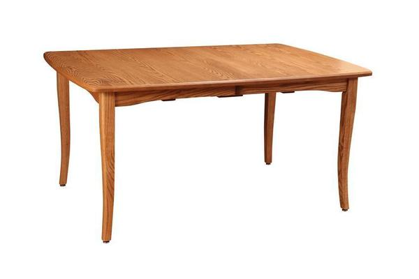 Amish Self-Storing Vienna Dining Table with Two Extensions
