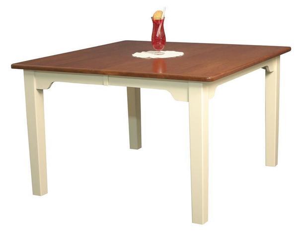 Amish Northern Custom Leg Dining Table