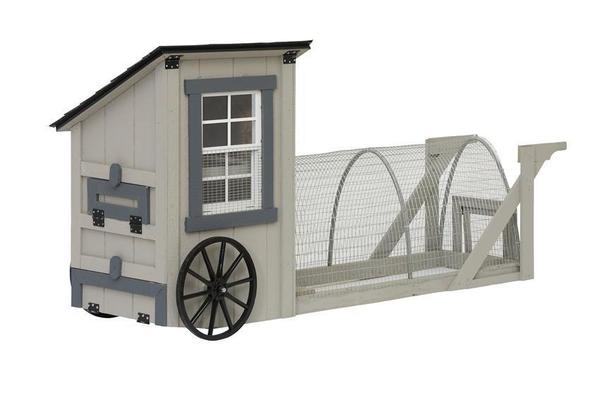 Amish 9' Easy-Roll Chicken Coop