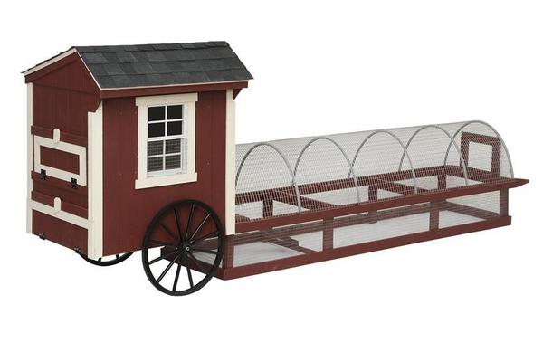 Amish Quaker 16' Easy-Roll Chicken Coop