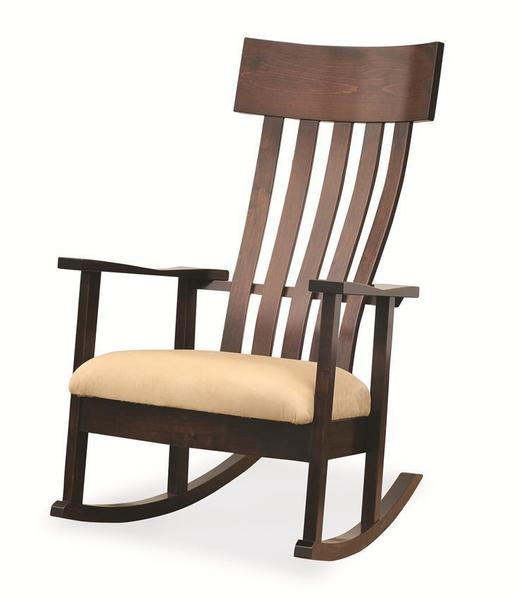 Amish Modern London Rocking Chair